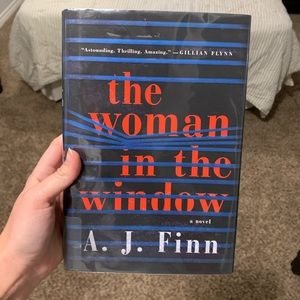 The Woman In the Window hardcover book